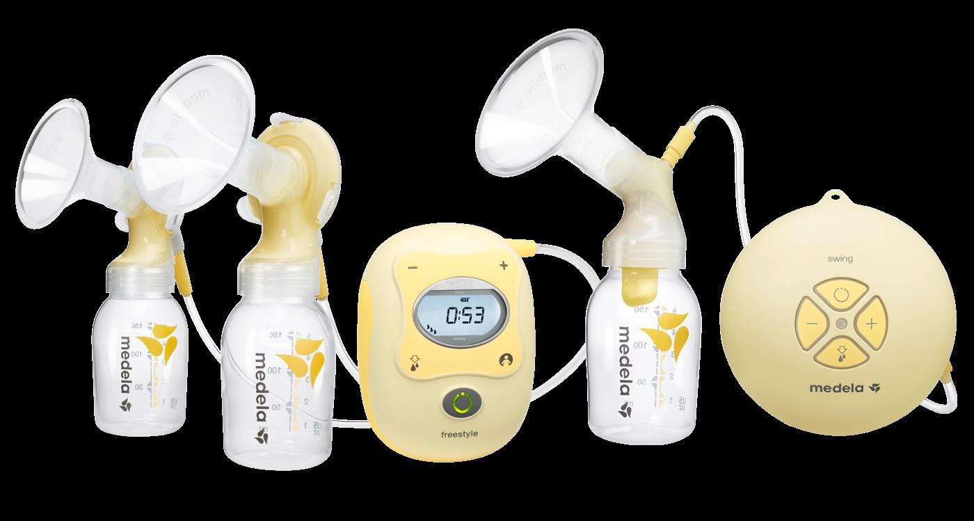 La gama de sacaleches de Medela cubre todas las posibles necesidades de las  madres lactantes  desde el inicio de la lactancia para un bebé prematuro 26a430077544