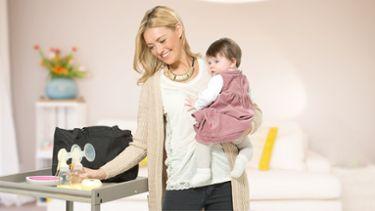 Medela Freestyle Sacaleches Madre y bebé